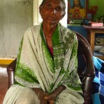 A sixty-eight year old widow